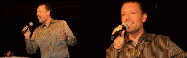 Sänger und Schauspieler Wolf Frank