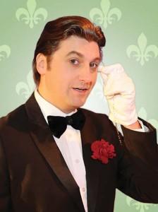 Nik Raspotnik als Peter Alexander